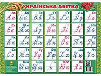 Плакат А2 Украінський алфавіт прописний