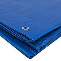 Тент ДМ  4х6 м 65 г/м² синий тарпаулин