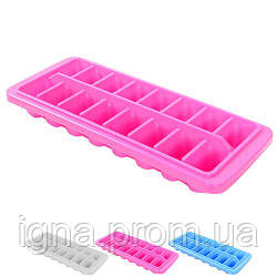 Форма для льда пластик 29*12,5см R21082 (120шт)