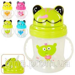 Чашка-поилка детская 200мл 14*8см J00150 (160шт)
