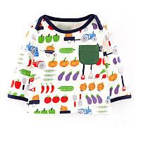 Детская кофта Овощи Jumping Meters
