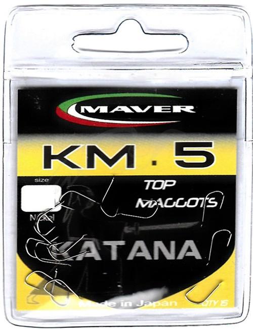"Крючки MAVER ""Katana"" KM05A №14 (15шт/уп)"