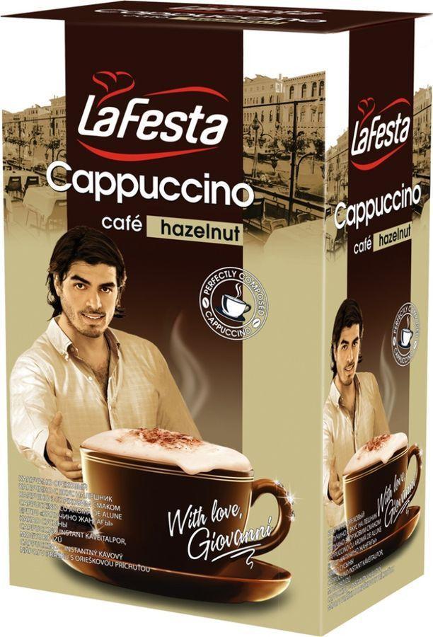 La Festa Cappuccino Hazelnut (10х12.5 г) Ла Феста Ореховый