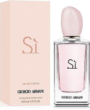 Парфюмированная вода женская (духи) Giorgio Armani Si Eau de Toilette 100 мл