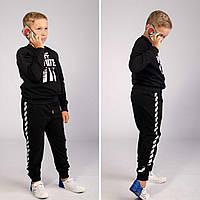 Детский спортивный костюм Off White черного цвета