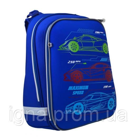 """Рюкзак шкільний, каркасний H-12 """"Maximum Speed"""""""