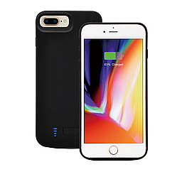 Чехол-аккумулятор XON PowerCase для iPhone 6 Plus/6S Plus/7 Plus/8 Plus 8000 mAh Black