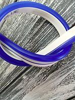 Светодиодный гибкий неон 12V, синий в цветной оболочке IP65