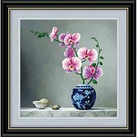 """""""Элегантные орхидеи"""" Набор для рисования камнями"""