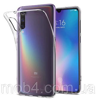 Ультратонкий 0,3 мм чехол для Xiaomi (Ксиоми) Mi 9 прозрачный