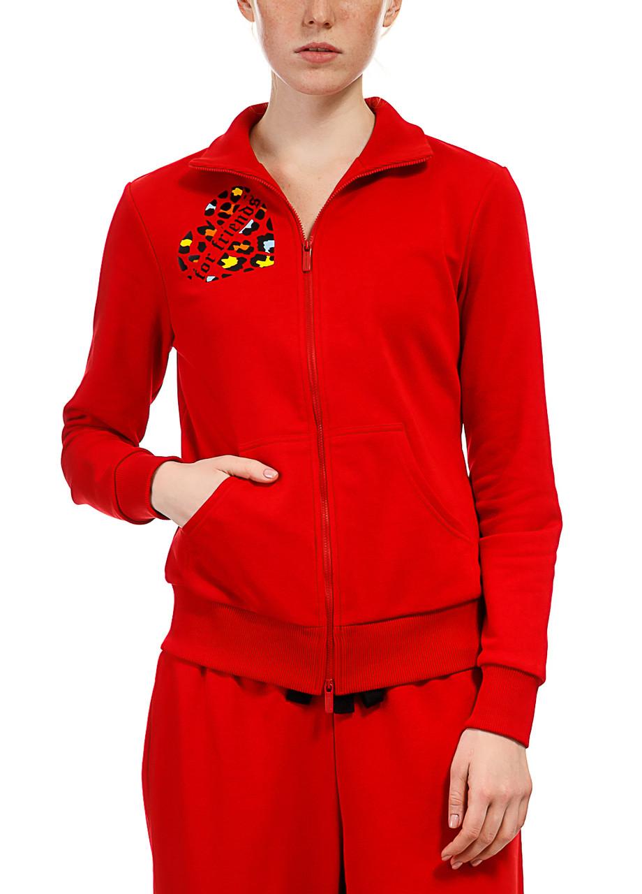Кофта женская Heart f.f красного цвета