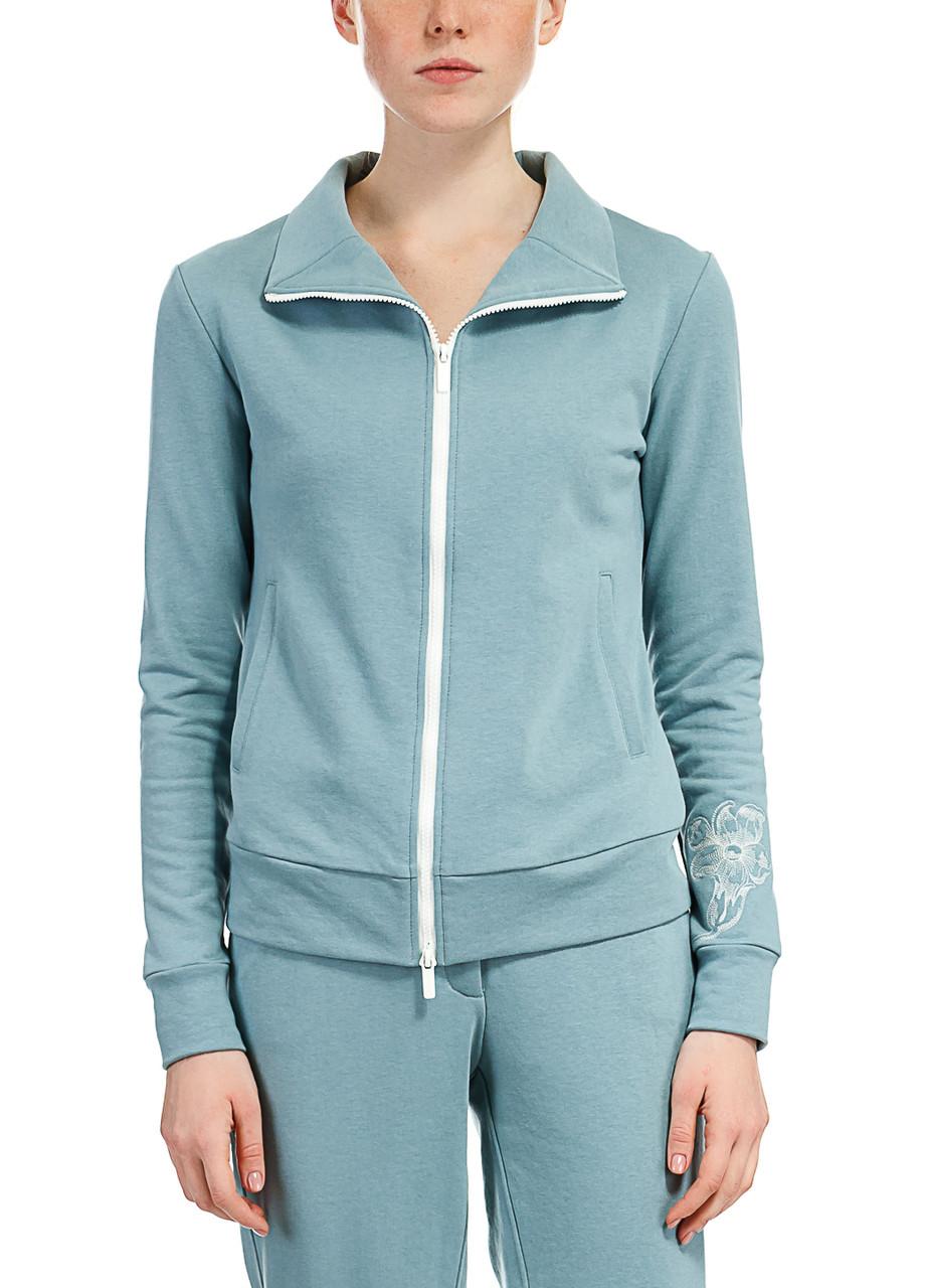 Кофта женская Antik olympik серо-голубого цвета