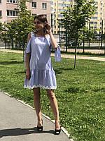 Женское котоновое платье Poliit 8486, фото 1
