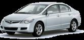 Фари передні для Honda Civic 4D 2006-11