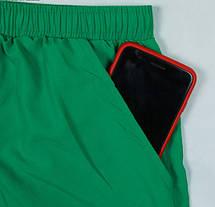 Пляжные Мужские Шорты Tauwell для купания Зеленые (Сетка, карманы) \чоловічі шорти плавання пляжні, фото 3