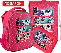 Комплект 3 в 1 рюкзак, пенал и сумка для сменки Kite My Little Pony (LP19-531M)