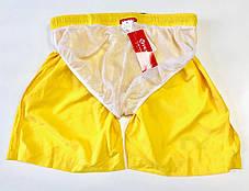 Пляжные Мужские Шорты Tauwell для купания Желтые (Сетка, карманы) \чоловічі шорти плавання пляжніЖелтые, фото 3
