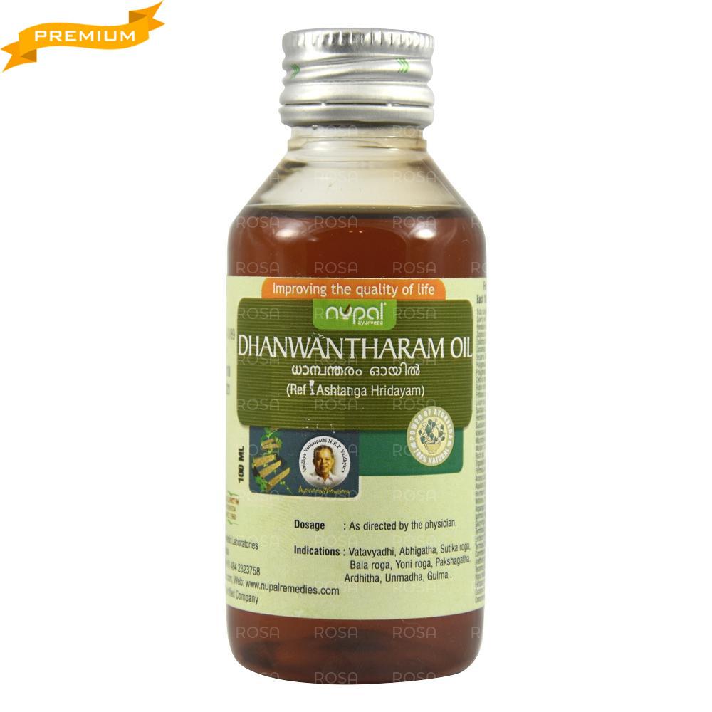 Масло Дханвантарам тайлам (Nupal Remedies) - аюрведа премиум качества, 100 мл