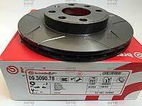 Тормозной диск R13 Brembo max 09.3090.75 Daewoo Lanos 1.4 1.5, Nexia 1.5