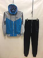 """Спортивный костюм подростковый для девочки """"Puma"""" от 10 до 14 лет, голубой"""