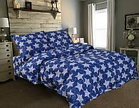 Півтораспальний постільний комплект - Зорі на синьому