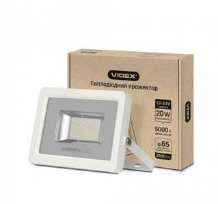 LED прожектор  20W 5000K 12-24V VIDEX PREMIUM