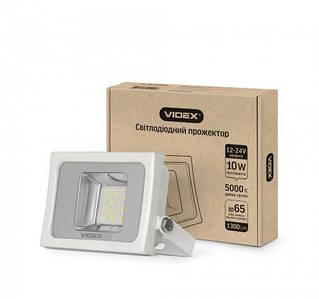 LED прожектор VIDEX PREMIUM 10W 5000K 12-24V White 20 шт