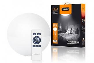 LED светильник функциональный  круглый  VIDEX 48W 2800-6000K 220V