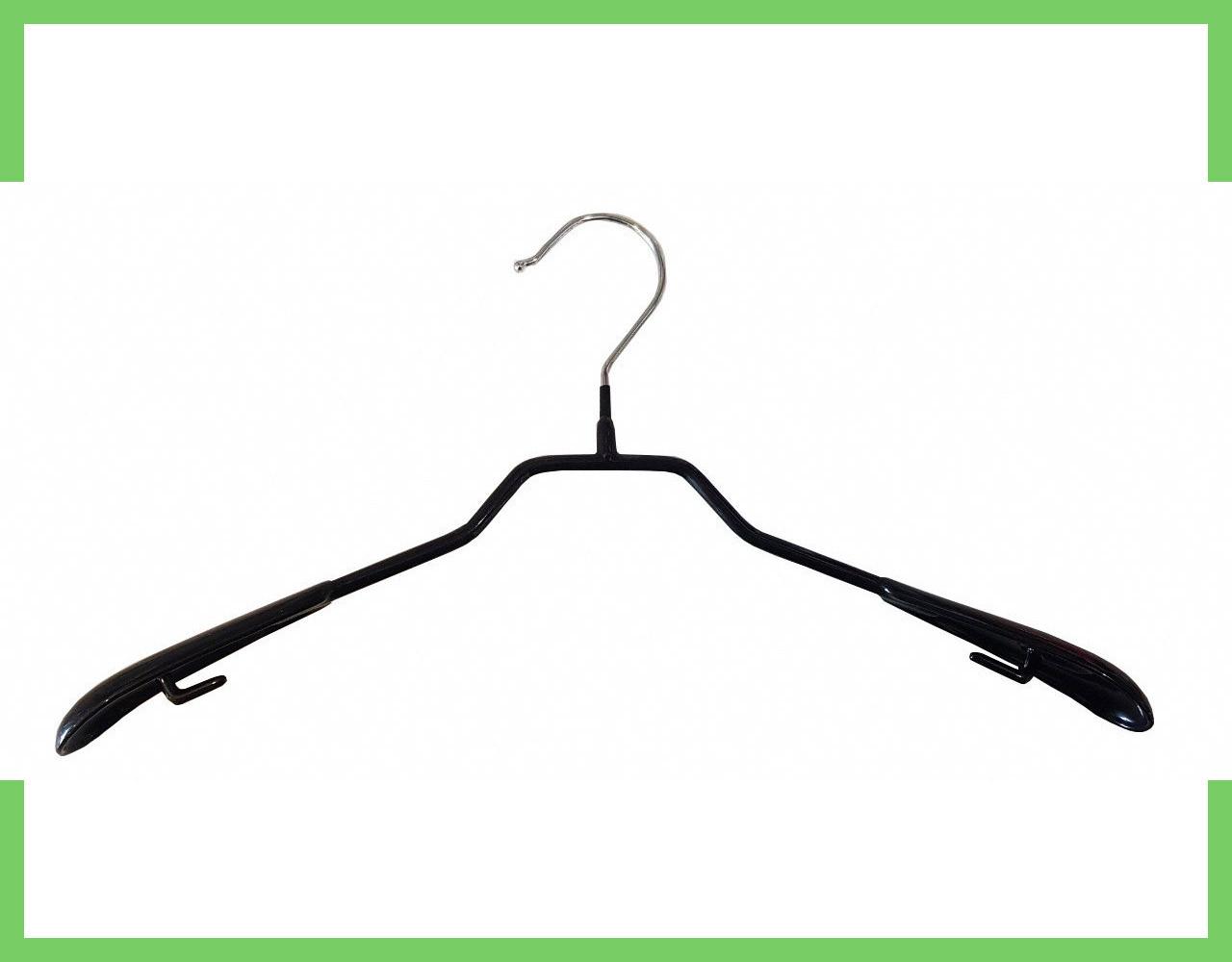 Плечики вешалки силиконовая для одежды без перемычки 38см (женская)