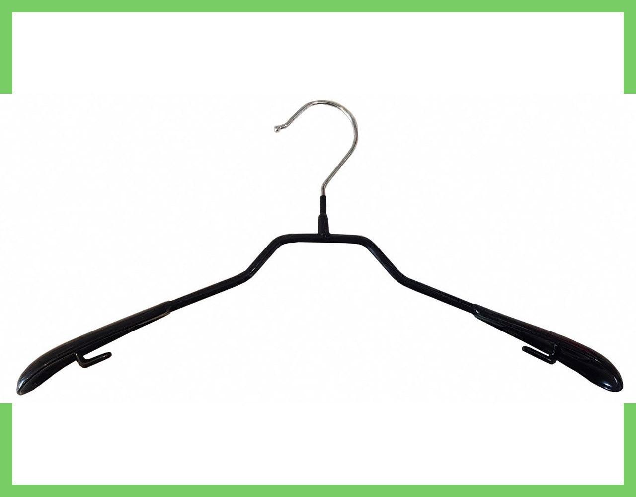Плечики вешалки силиконовая для одежды без перемычки 42 см (Мужская)