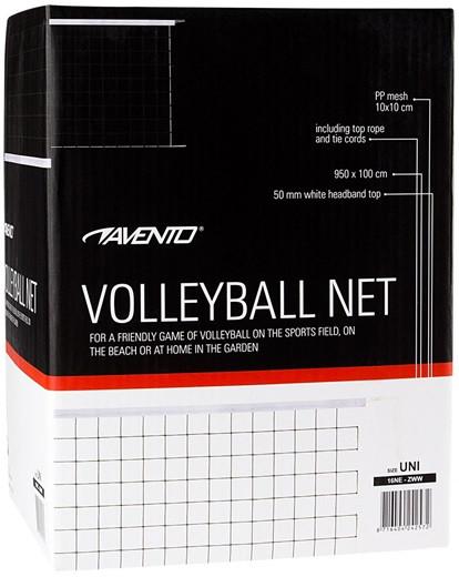 Волейбольна сітка AVENTO 9.5 X 1 (16NE)
