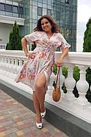 Нарядное женское платье большие размеры Г05002, фото 1