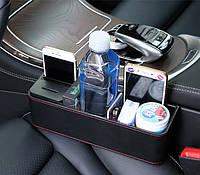 Автомобильный органайзер-карман между сиденьями