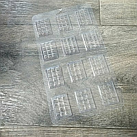 Пластиковая форма для шоколада маленькие плитки 4