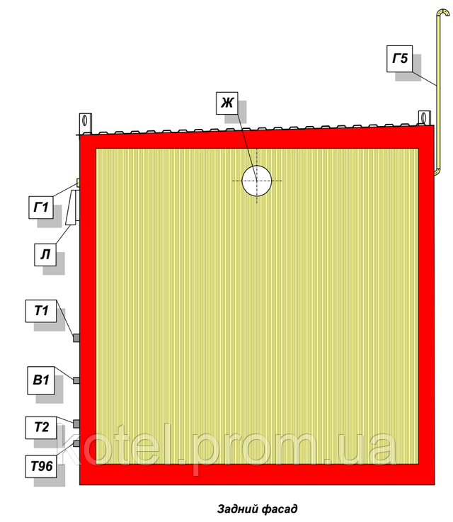 КМ-2-200 Колви 1.100 СР задний фасад