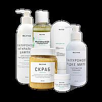 Набор для ухода за кожей Bel`etage Скраб для тела + Жидкое мыло + Крем для тела + Мицеллярная вода + Скраб для губ + Маска для лица (hub_lllU11136)