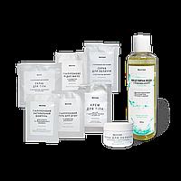 Набор Bel`etage Мицеллярная вода + Маска для лица + Пробник шампунь + Пробник скраб для тела + Пробник крем для тела + Пробник жидкое мыло + Пробник