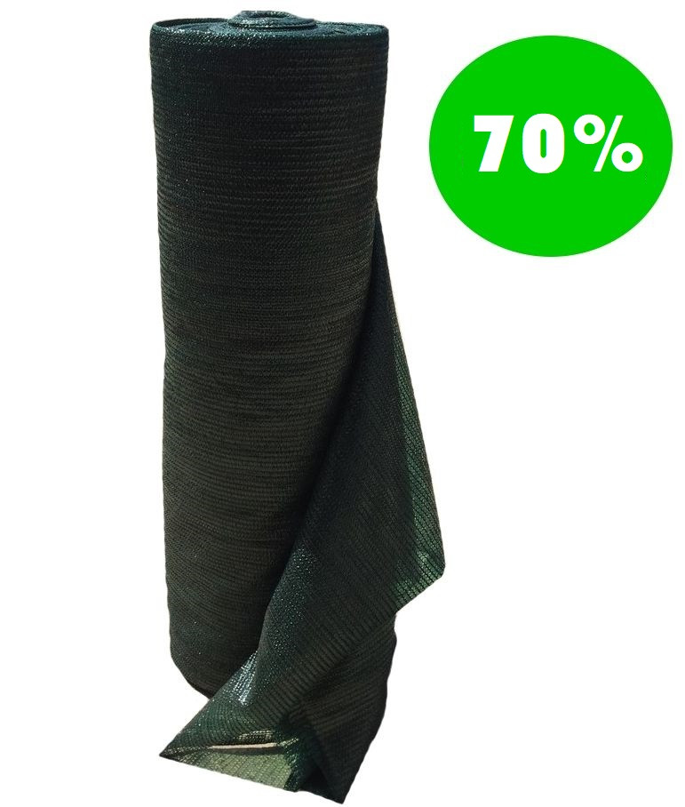 Сетка затеняющая 70% рулон 8м х 50м Toorineh Иран Сетка садовая притеняющая, сетка затенение