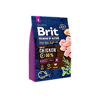 Brit Premium Dog Adult S, 3 кг