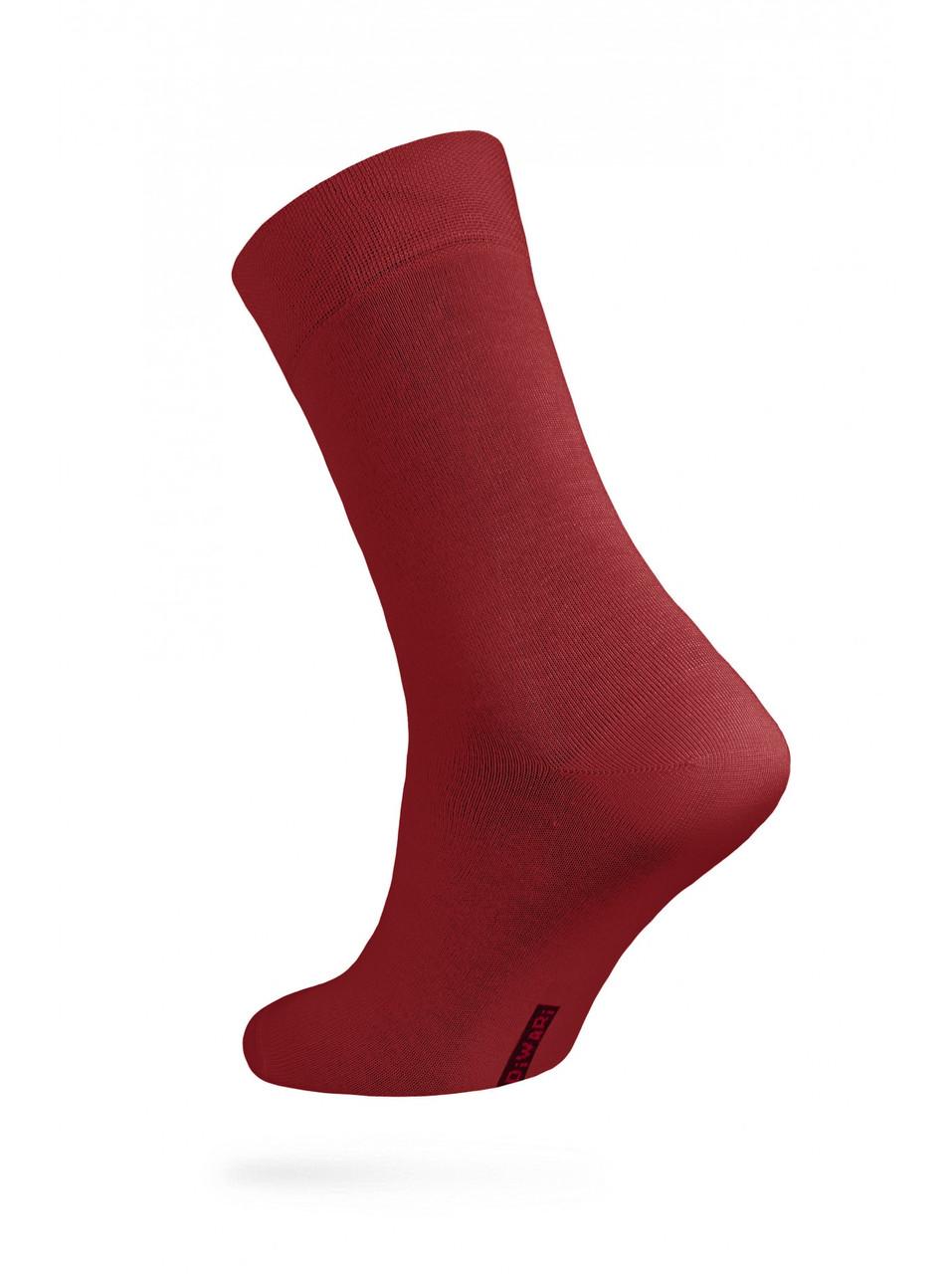 Шкарпетки чоловічі класичні бордові DIWARI CLASSIC 5С-08СП