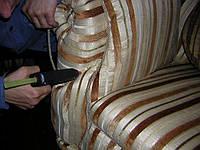 Перетяжка, ремонт подлокотников в Киеве