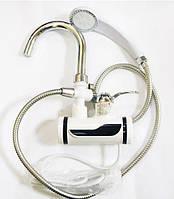 Проточный водонагреватель электрический на кран LCD бойлер с душем, фото 1