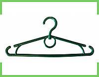 Вешалка плечики пластмассовые детское-Украина 32 см (зеленая), фото 1