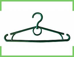 Вешалка плечики пластмассовые детское-Украина 32 см (зеленая)