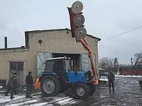 Февральские поставка и демонстрация обрезчика деревьев