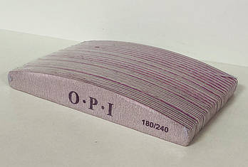 Пилка OPI 180/240 - 25 шт