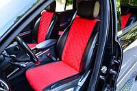 Накидки на сиденья красные. Передний комплект. СТАНДАРТ. Авточехлы