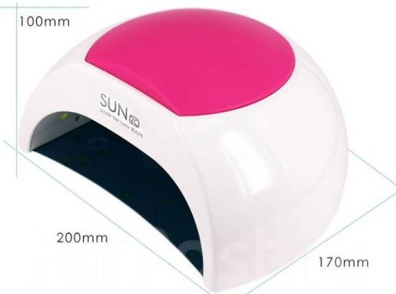 АКЦИЯ!Лампа для сушки ногтей SUN 2C LED+UV 48W