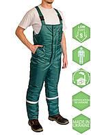 Полукомбинезон утеплённый Эксперт зеленый