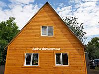 Двухэтажные дачные домики-эконом вариант